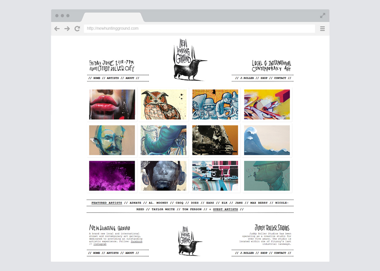 artistpage